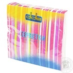 Didie Two-Layer Napkins 18pc - buy, prices for Tavria V - image 1