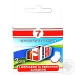 Semerka Toilet Freshener With Smell Lemon-Sea 2pc