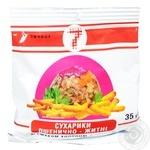 Сухарі Семерка пшеничні 35 г зі смаком холодцю з хріном