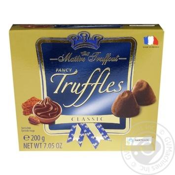 Maitre Truffout Fancy Trussles Classic  Candies 200g