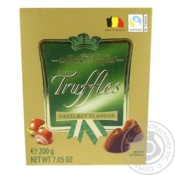 Цукерки Maitre Truffout Fancy Trussles зі смаком фундука 200г