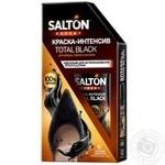 Краска-интенсив Salton Expert Total Black Черная для обуви из черной замши, нубука и велюра 75мл