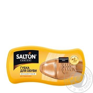 Губка для обуви из гладкой кожи Salton бесцветная - купить, цены на Novus - фото 2