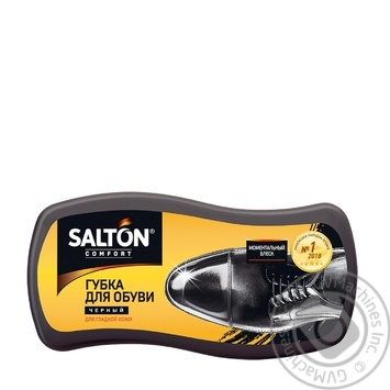 Salton Black For Smooth Leather Shoes Sponge - buy, prices for Tavria V - image 1