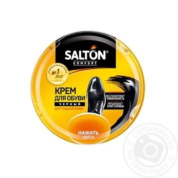 Крем для взуття з гладкої шкіри Salton чорний 50мл - купити, ціни на Varus - фото 2