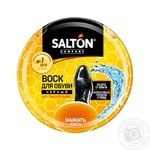 Salton Black For Smooth Leather Shoes Wax 75ml