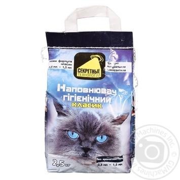 Sekretnye Tekhnolohyy Classic Filler For Pets 2.5kg - buy, prices for Tavria V - image 1