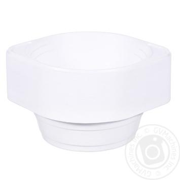 Semjorka Soup Disposable Plastic Plate 500ml 100pcs - buy, prices for Tavria V - image 1