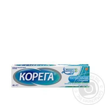 Крем Corega Экстра сильный 40г - купить, цены на Novus - фото 1
