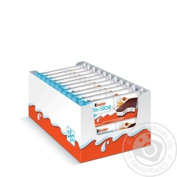 Пирожное Kinder Milk-Slice бисквитное с молочной начинкой 28г - купить, цены на Таврия В - фото 3