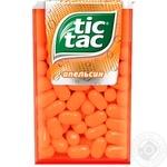 Драже Tic Tac зі смаком апельсину 49г - купити, ціни на CітіМаркет - фото 1