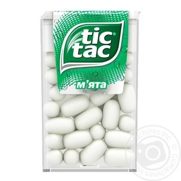 Tic Tac Mint Dragee 16g - buy, prices for MegaMarket - image 1