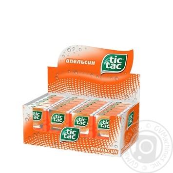 Драже Tic Tac со вкусом апельсина 16г - купить, цены на Ашан - фото 2