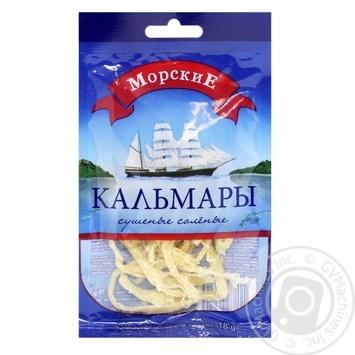 Кальмары Морские 18г - купить, цены на Фуршет - фото 1