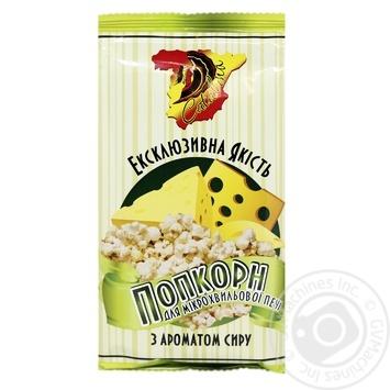 Попкорн Catalina Сыр для микроволновой печи 90г - купить, цены на Фуршет - фото 1