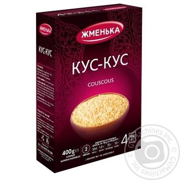 Крупа Жменька кус-кус пшеничний в пакетиках 400г - купити, ціни на МегаМаркет - фото 1