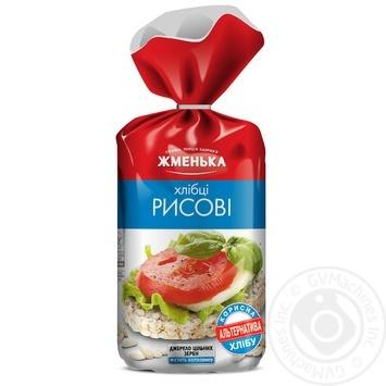 Хлібці Жменька рисові 100г - купити, ціни на МегаМаркет - фото 1