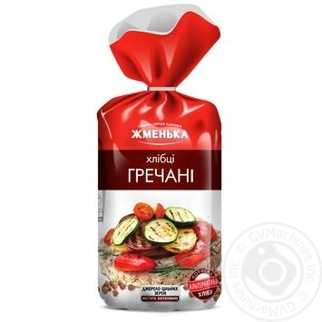 Хлебцы Жменька гречневые 100г - купить, цены на Novus - фото 1