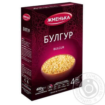 Булгур Жменька 4*100г - купити, ціни на МегаМаркет - фото 1