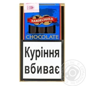 Сигары Handelsgold Cigarillos Chocolate - купить, цены на Фуршет - фото 1
