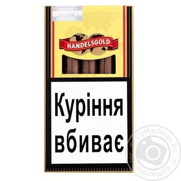 Сигары Handelsgold Vanilla Cigarillos 5 - купить, цены на ЕКО Маркет - фото 1