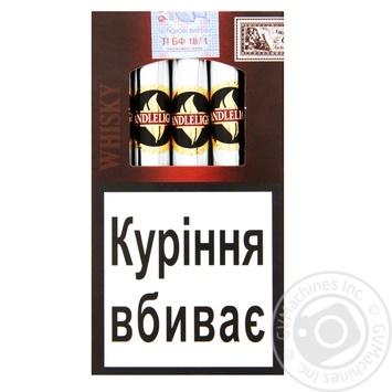 Сигары Candlelight Senorita Whisky - купить, цены на Novus - фото 1