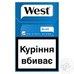 Сигареты West Blue KS