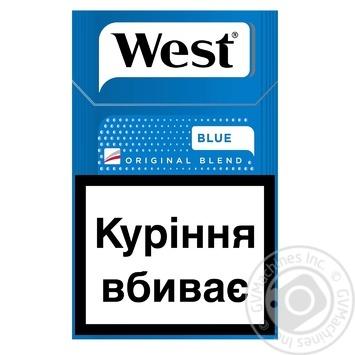 Цигарки West Blue KS 20 - купити, ціни на Фуршет - фото 1