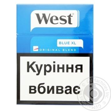 Цигарки West Original Blend Blue 25шт - купити, ціни на CітіМаркет - фото 1