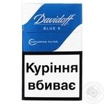 Сигареты Davidoff Advanced Filter Blue 6 - купить, цены на Фуршет - фото 1