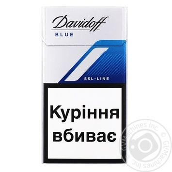 Davidoff SSL-Line Blue Cigarettes - buy, prices for CityMarket - photo 1