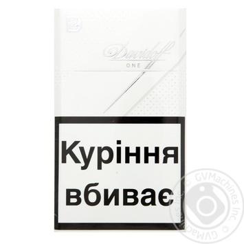 Сигареты Davidoff One - купить, цены на Фуршет - фото 1