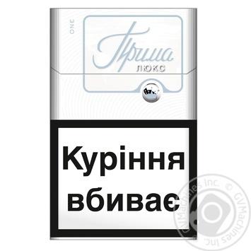 Сигареты Прима Люкс One - купить, цены на Фуршет - фото 1