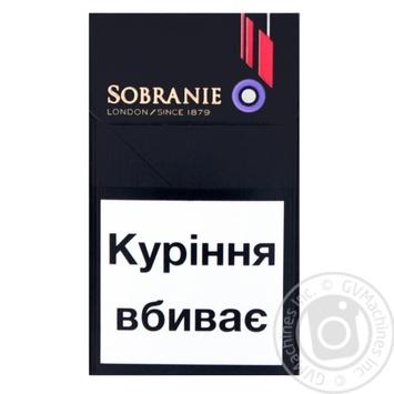 Сигареты Evolve Sobranie - купить, цены на Novus - фото 2