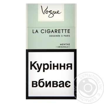 Vogue Menthe Cigarettes - buy, prices for Furshet - image 1