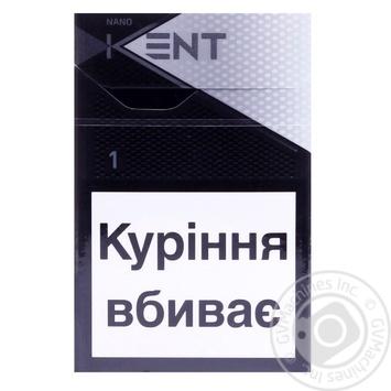 Сигареты Kent Nano white - купить, цены на Фуршет - фото 1