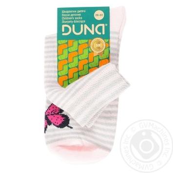 Duna Light Gray Children's Socks 22-24s - buy, prices for Furshet - image 1