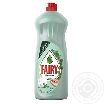 Жидкость для мытья посуды Fairy Чайное дерево и мята 1л