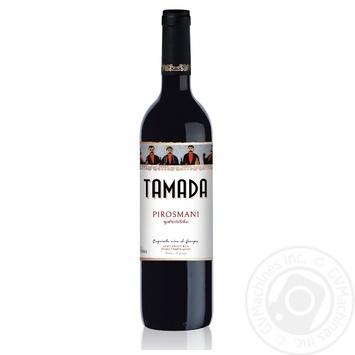 GWS Tamada Pirosmani red semi-sweet wine 12% 0.75l - buy, prices for Novus - image 1