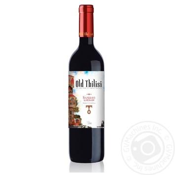 Вино GWS Старый Тбилиси Саперави-Дзелшави красное сухое 13.5% 0.75л - купить, цены на Фуршет - фото 2