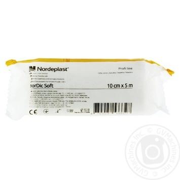 Бинт бав/ел НорДікСофт Nordeplast 10смх5 - купить, цены на Фуршет - фото 1