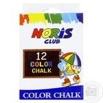 Набор мелков цветных Gonchar 12шт - купить, цены на Фуршет - фото 1