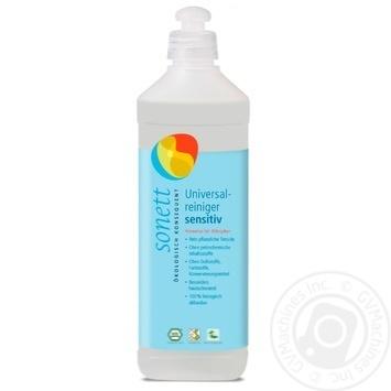 Пральний засіб Sonett рідкий для вовни та шовку органічний Нейтральна серія Концентрат 1л - купити, ціни на Novus - фото 1