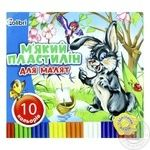 Plasticine with wax 10 colors MIZAR 254401 - buy, prices for Furshet - image 1