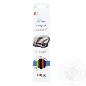 Набор цветных карандашей 6шт - купить, цены на Фуршет - фото 1