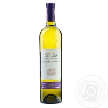 Western Cellars Colombard-Chardonnay white dry wine 11.5% 0.75l - buy, prices for Furshet - image 1