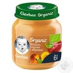 Gerber Organic for babies apricot-peach-apple puree 125g