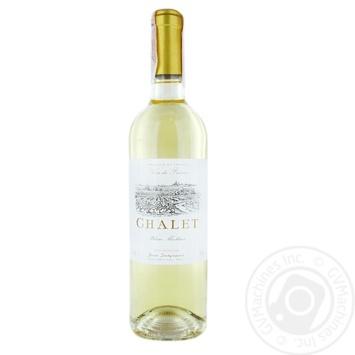 Вино Jean Desgraves Chalet Ch.Quancard белое полусладкое 0.75л