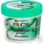 Маска для волос Garnier Fructis Superfood с Алоэ 390мл