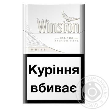 Цигарки Winston White - купити, ціни на CітіМаркет - фото 2